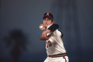 Nolan Ryan with Angels