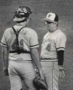 Dan Graham and Earl Weaver