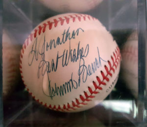 My Johnny Bench Autograph