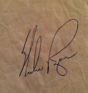 Nolan Ryan Autograph