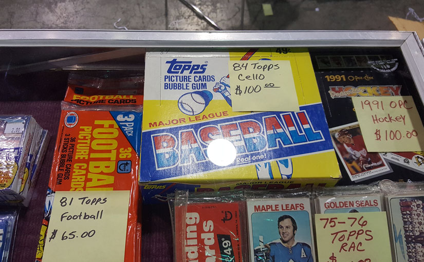 1984 Topps Cello Packs